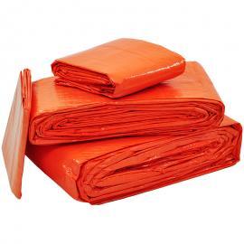 Afdekzeil oranje licht (100gr/m²)