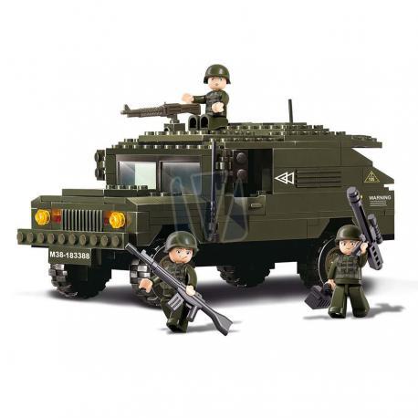 Sluban army Humvee