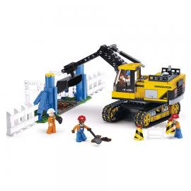 Sluban Construction digger M38-B0551