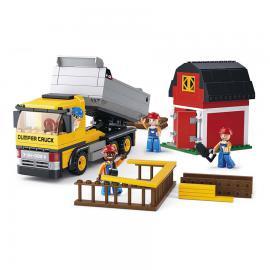 Sluban Construction dump truck M38-B0552