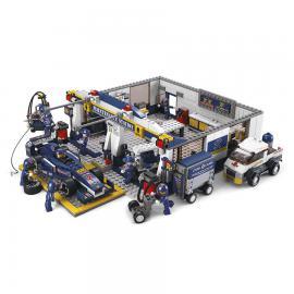 Sluban Formula 1 garage M38-B0356