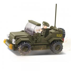 Sluban Army jeep M38-B0296