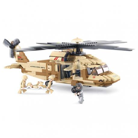 Sluban army black hawk helicopter