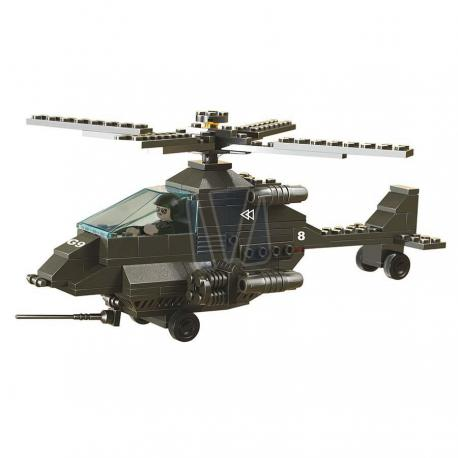 Sluban army attack helicopter