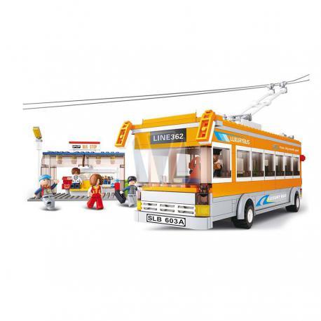 Sluban Town trolleybus M38-B0332