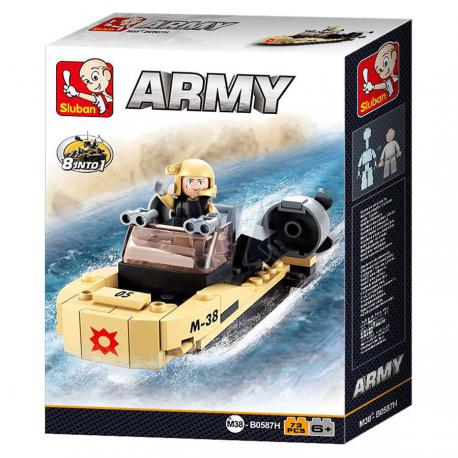 Sluban Army assault boat M38-B0587H