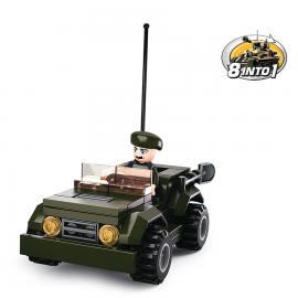 Sluban Army jeep M38-B0587F