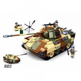 Sluban WWII Medium German tank M38-B0859