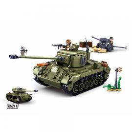 Sluban WWII Allied medium tank M38-B0860