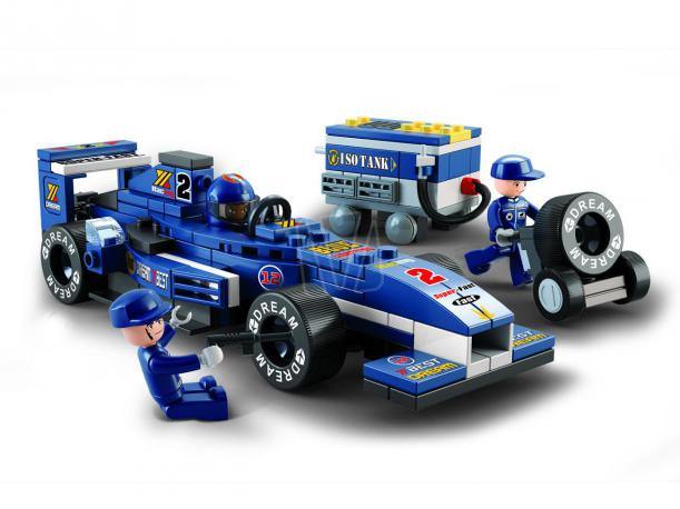 Sluban Formule 1 racing car M38-B0351