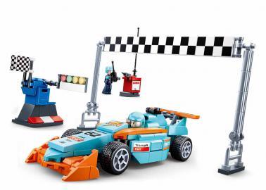 Sluban Small race track M38-B0762