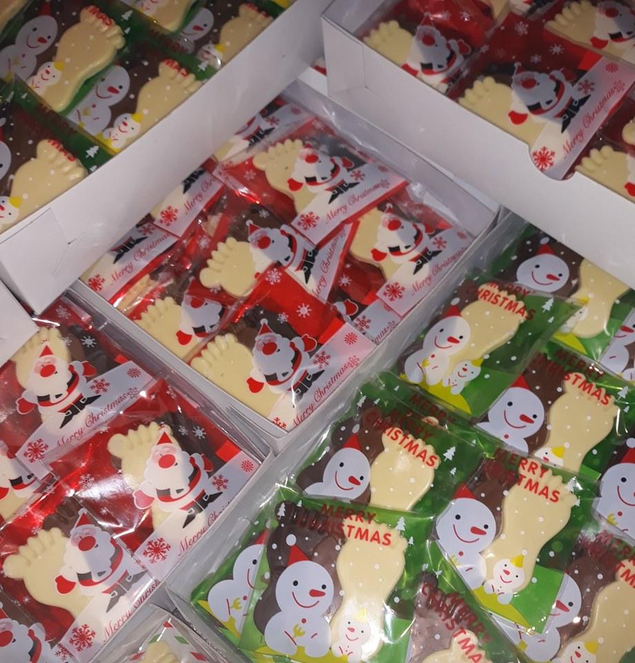 Kartonnen dozen dubbele golf (per 15 stuks) gebruik: Verpakken van chocolade artikelen