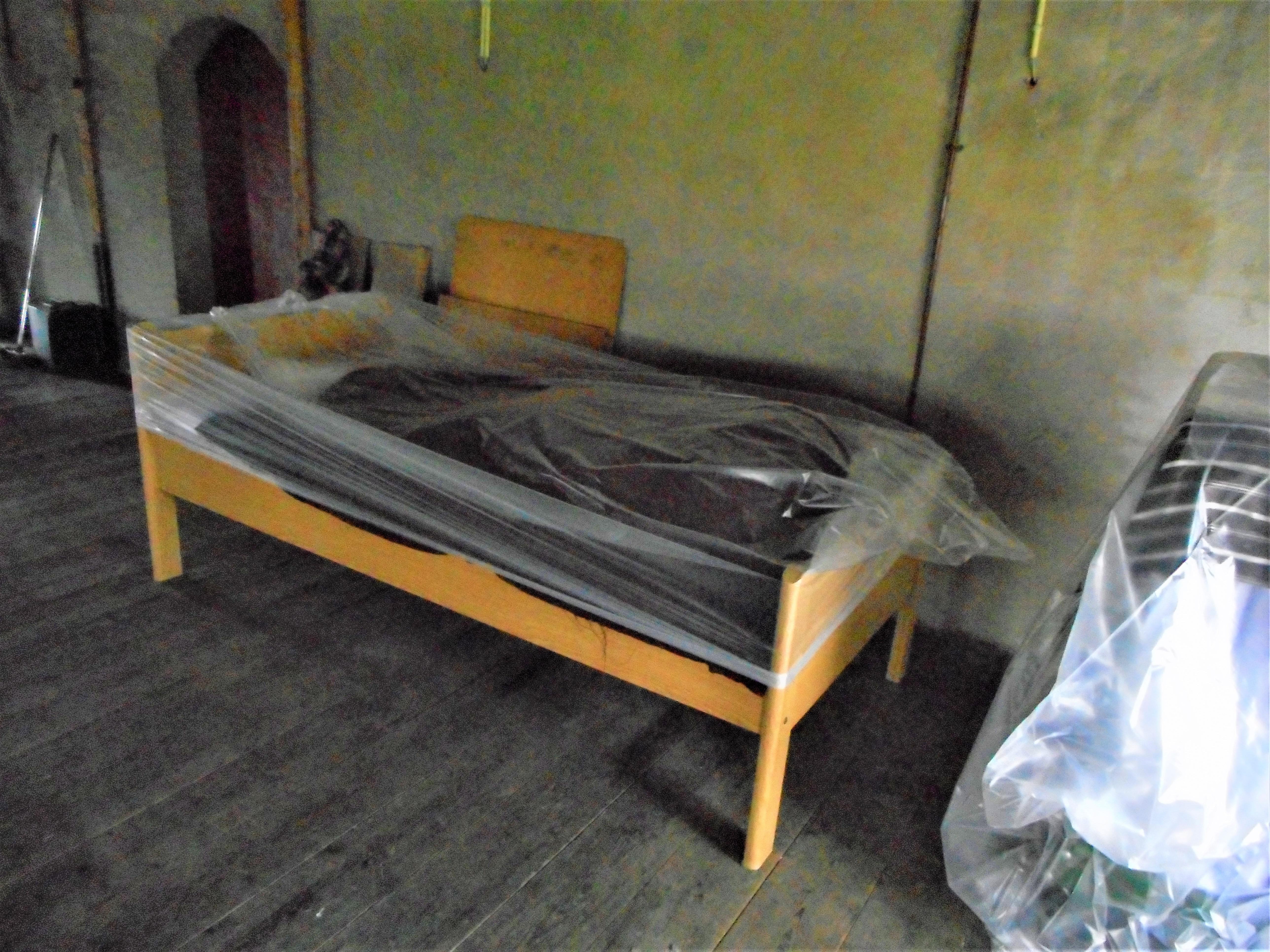 Plastic meubelhoezen per stuk gebruik: Afdekken 1 persoons bed